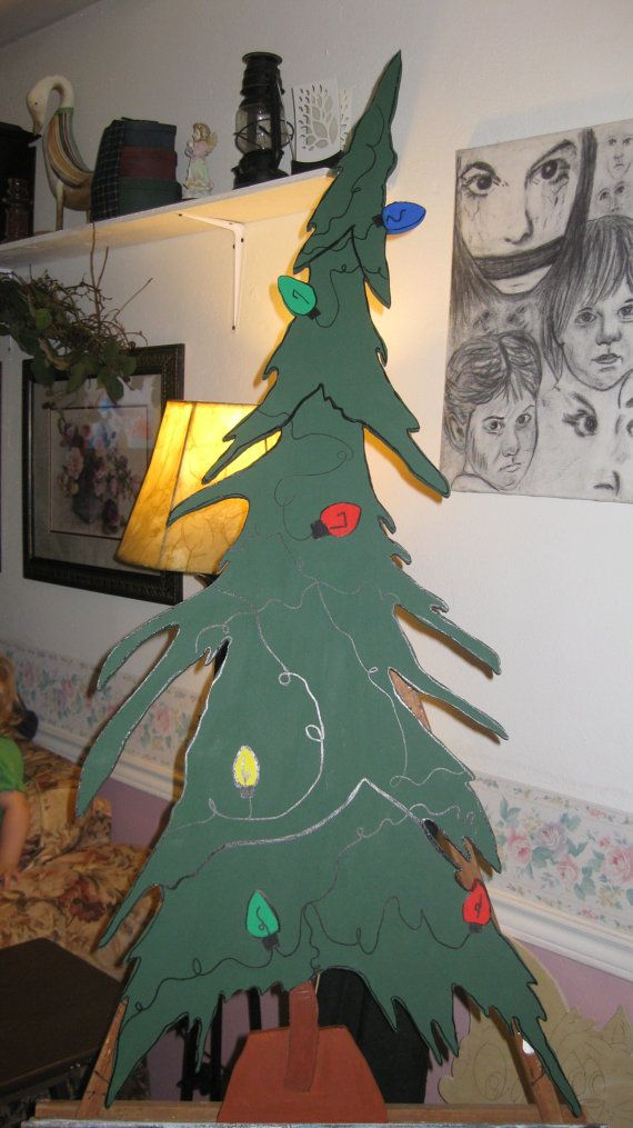 Whoville Christmas tree  Approx 4ft tall by DestinysCustomDesign, $65.00