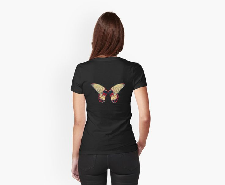 Butterfly Wings - Women's T-shirt #butterfly #wings #womensfashion #cooltop #giftidea