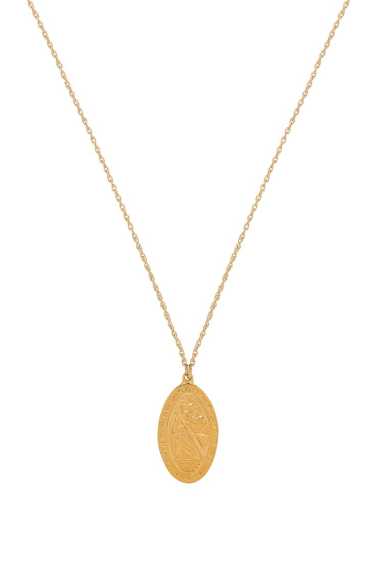 Amour Charm Necklace in Gold Natalie B Jewelry 5YTdFv