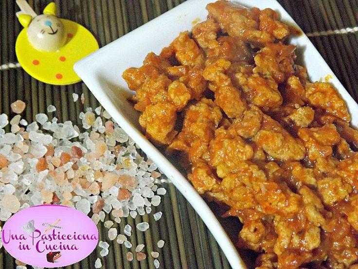 spezzatino di soia ricetta