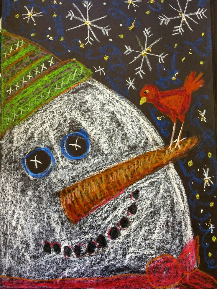 Pamela Holderman: It's snowing snowmen