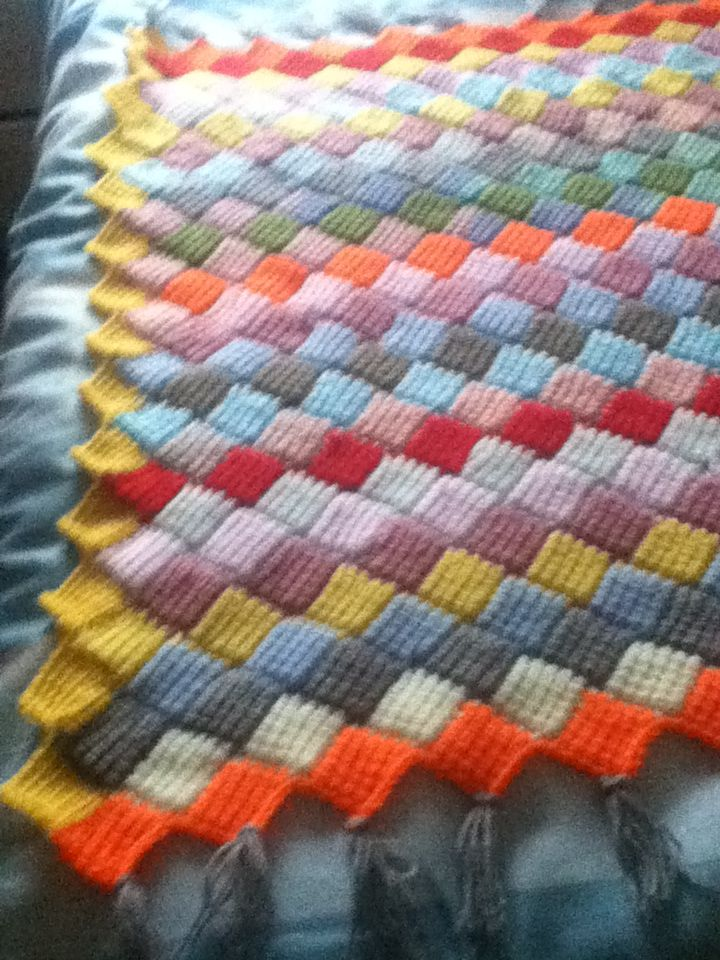 108 best Crochet Tunisian Entrelac Crochet images on Pinterest ...