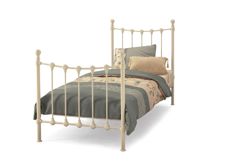 3ft Marseilles Cream Bedframe The Marseilles in it traditional setting is captivating on the eye, a centrepiece for the bedroom.