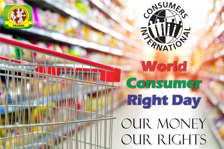 World Consumer right day..