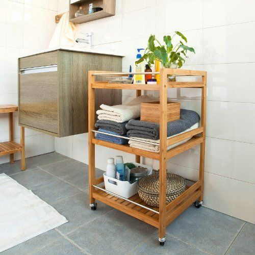 SoBuy Kitchen storage trolley cart ,Kitchen trolley cart So-FKW11-N #NotApplicable