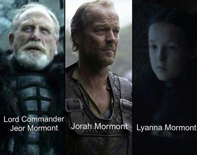 House Mormont. Here We Stand. (Lyanna Mormont is Jorah's cousin) #mormont #gotseason6 #gameofthrones #hbo