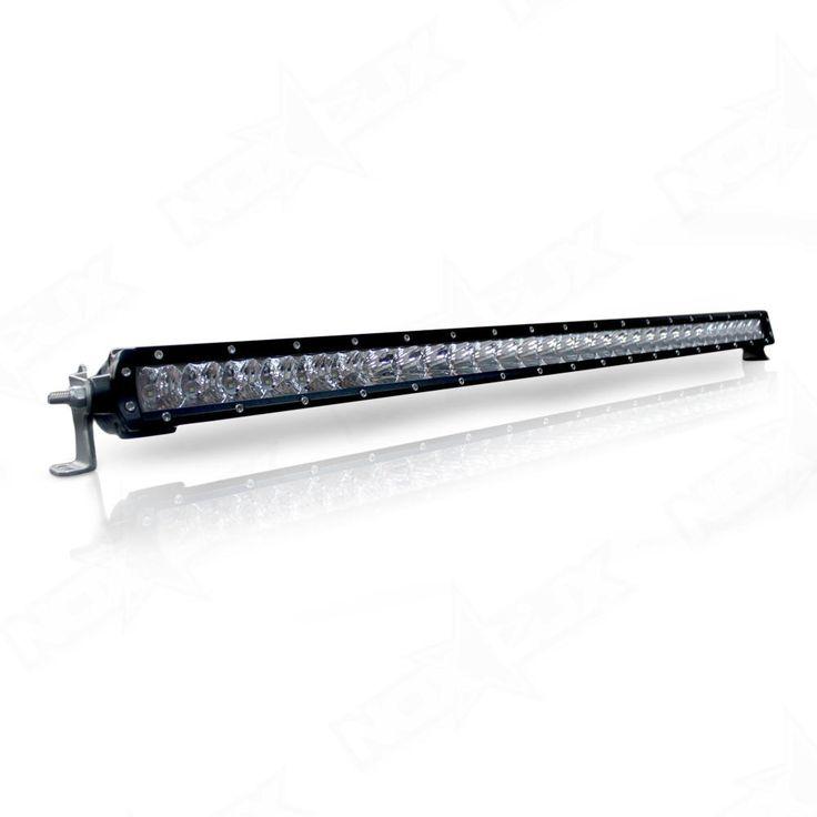 30 inch Single Row #4x4 #Offroad #LED Light Bar-  https://nox-lux.com/product/aurora-30-single-row-led-light-bar/