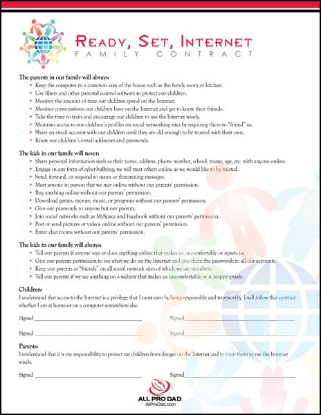 Christian dating contract