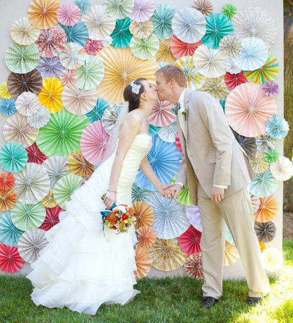 Wedding Online - Moodboards - 18 creative backdrop ideas for your wedding photos
