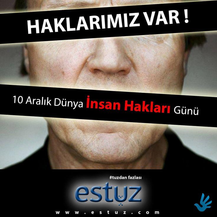 10 ARALIK İNSAN HAKLARI GÜNÜ   Anayasadaki Temel Hak ve Özgürlükler www.istanbul.gov.tr/?pid=11123 #tuzdanfazlası #estuz #tuz #salt #saltofturkey #10Aralık #insan #hakları #günü