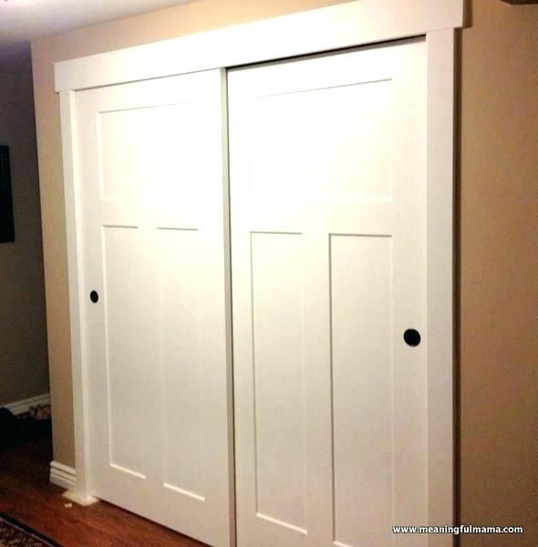 Sliding Closet Door Hardware Sliding Closet Door Track Cozy