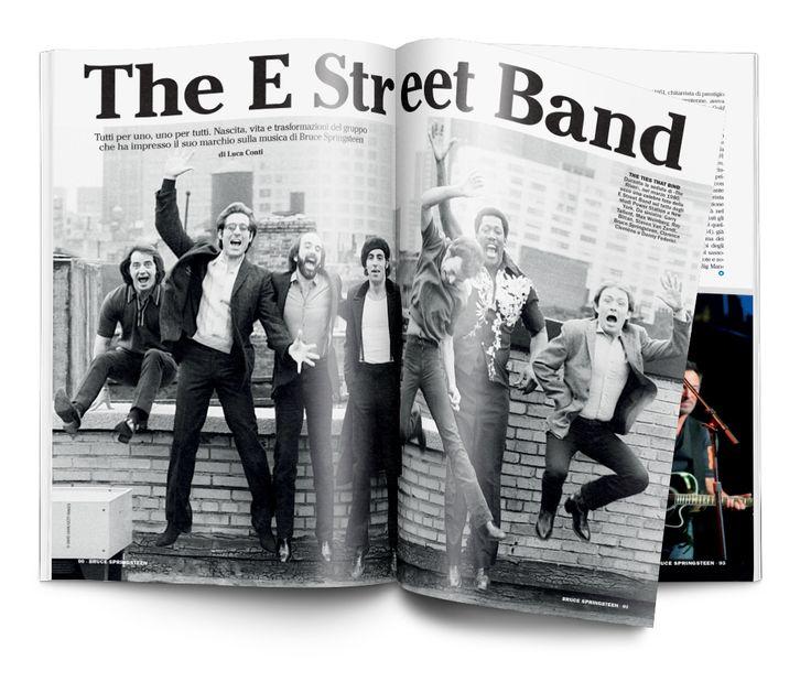 Speciale Bruce Springsteen Un progetto di Musica Jazz e Music Circus Art Director Silvano Belloni Publisher Marco Tatarella Illustrazioni Davide Forleo Foto David Gahr/Getty Images