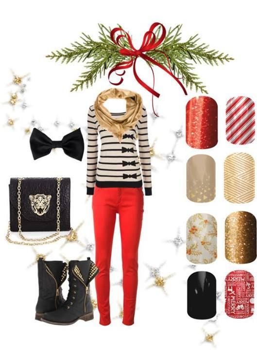 Jamberry Nails Christmas wraps add some sparkle and shine to your holiday season!    Check out Jamberry Nails + Place an Order: madi.jamberrynails.net
