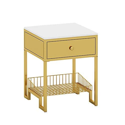 Gyz Bedside Table Simple Modern Bedroom Wrought Iron Bedside