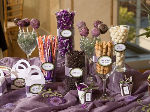 this is a wonderful idea I would like to do for my niece's special party, it is a cheap way to incorporate colors.  It serves not only as a decoration but as a way to display food items.