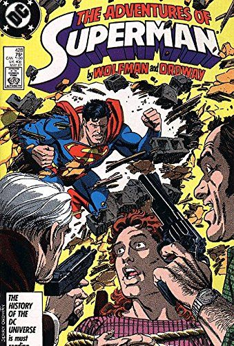 Adventures of Superman (1987 series) #428 @ niftywarehouse.com #NiftyWarehouse #Nerd #Geek #Entertainment #TV #Products
