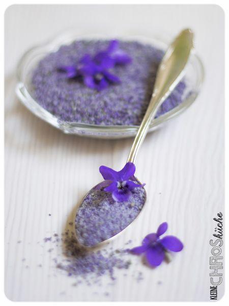 Veilchenzucker Veilchen Zucker Violet Sugar