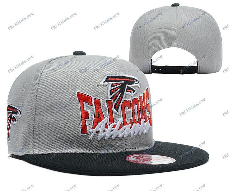 Atlanta Falcons Snapbacks Grey Black NFL Hats russian hat