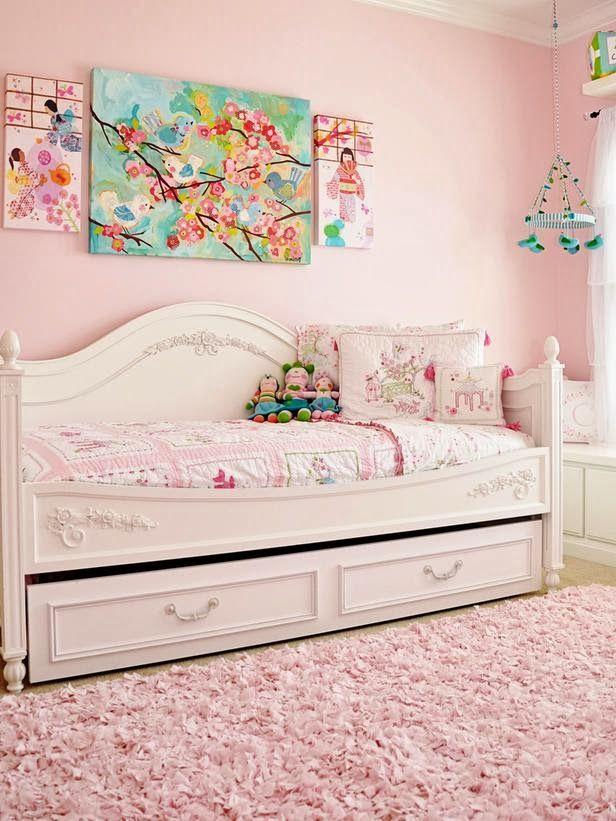 preciosas para nias de color rosa habitacion para nios color rosa y para nios