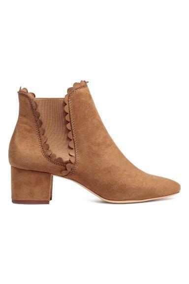 Ankle boots - Cognac brown - Ladies | H&M GB 1