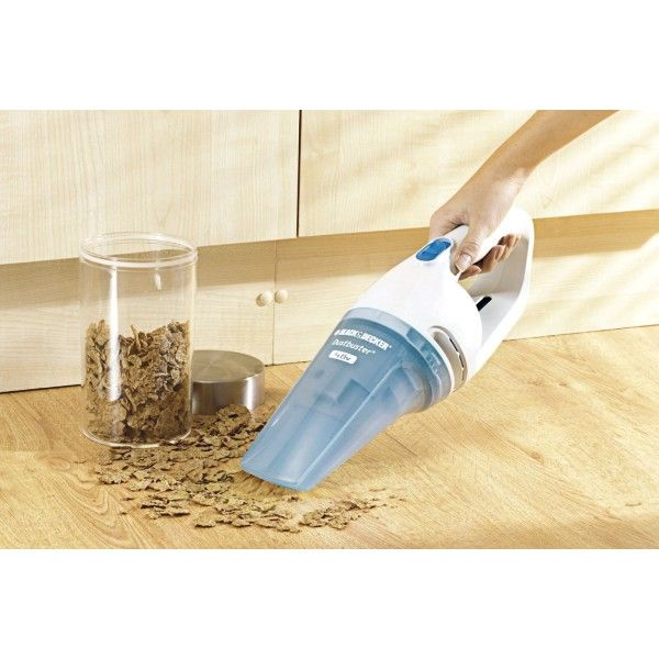 Black & Decker NW4860N Cordless Wet and Dry Dustbuster Hand Vacuum Cleaner - Vacuum Cleaners - Large Home Appliances - Electronics