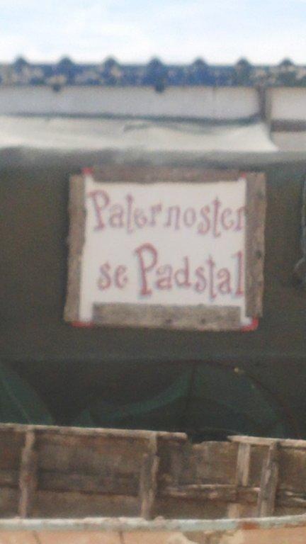 Paternoster se Padstal