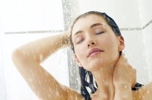 douche eau froide