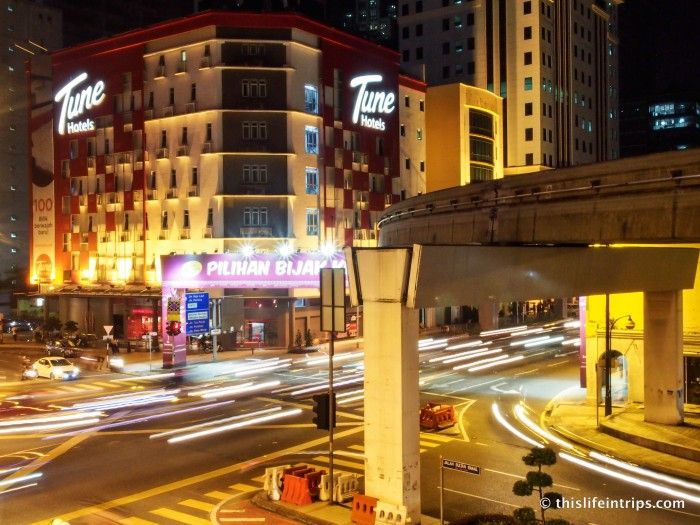 Build your own Stay - Tune Hotel KL Downtown Review