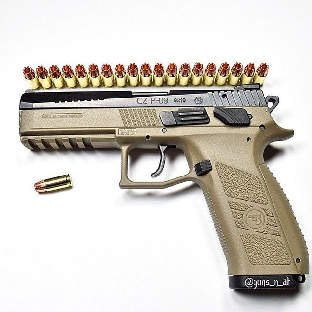 CZ P-09 with 9mm rip bullets  Loading that magazine is a pain! Get your Magazine speedloader today! http://www.amazon.com/shops/raeind