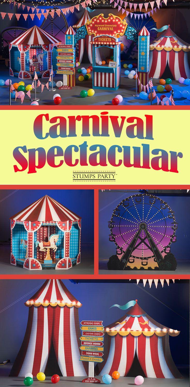 1078 best clown carnevil haunt ideas images on pinterest - Carnival theme party supplies ...