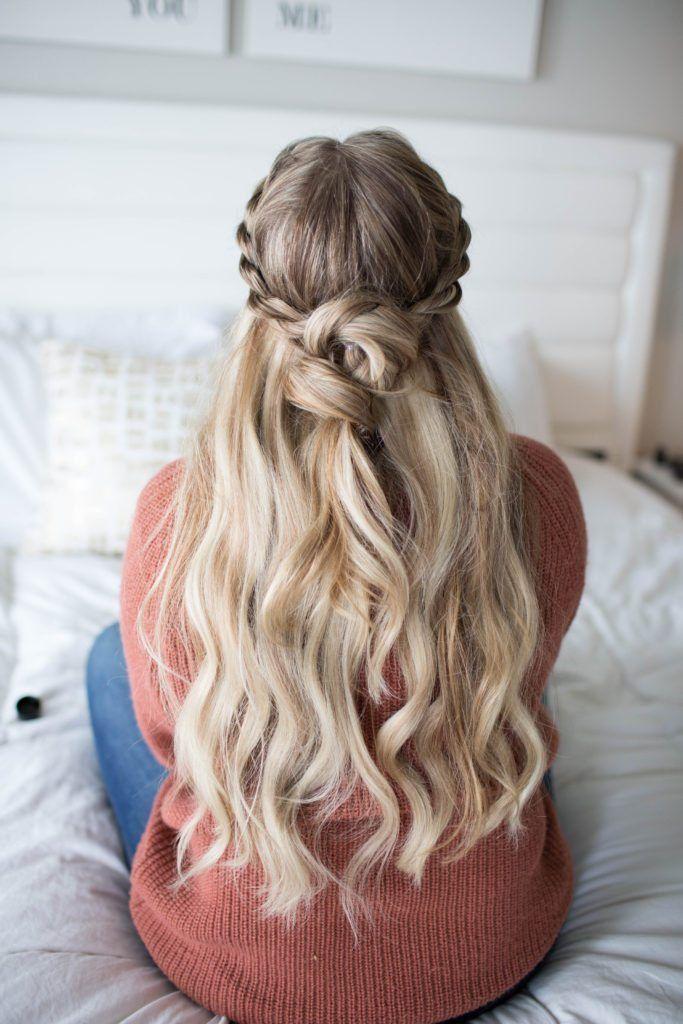 Hair // 5 Minute Twirl Knot Rope Braid Tutorial