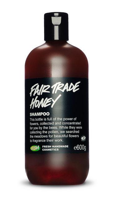 Fairly Traded Honey Shampoo 500g