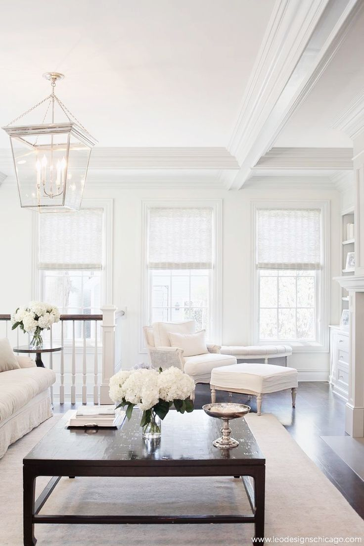 All white living room - Find This Pin And More On The Living Room All White House Repaint
