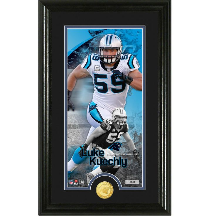 "Luke Keuchly Carolina Panthers Highland Mint 24"" x 16"" Player Supreme Panoramic Photomint"