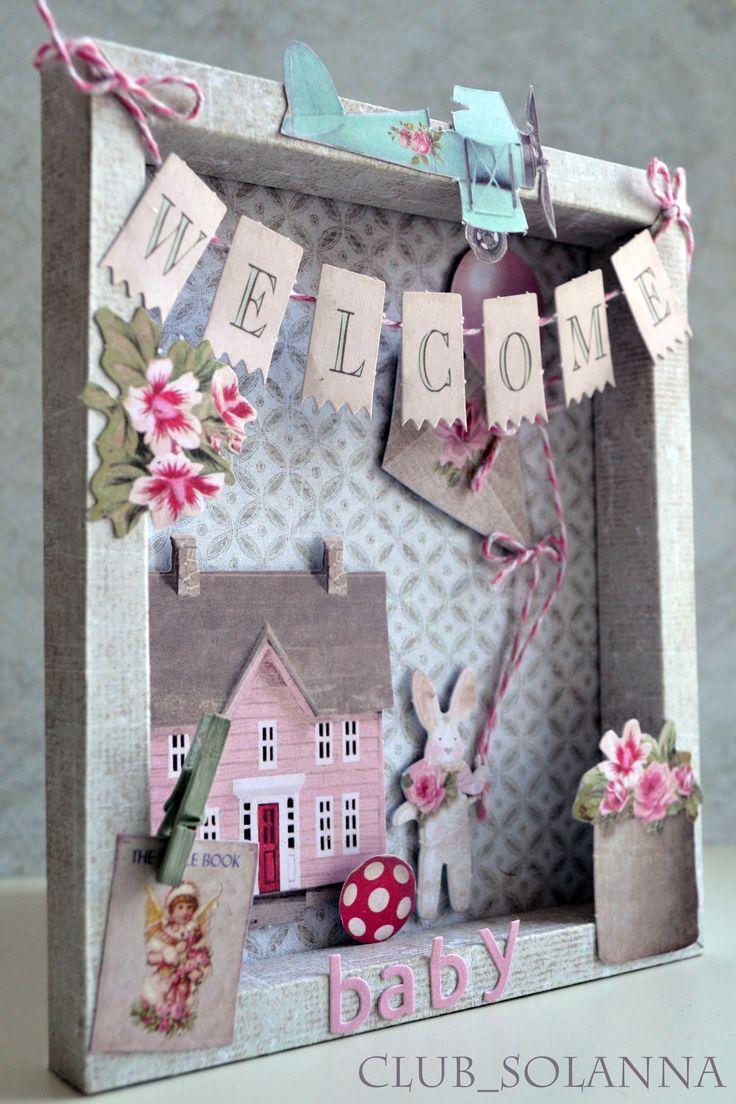 Baby Card - card the corner shop tilda