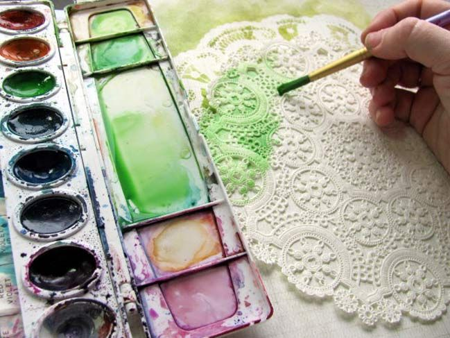 scrapbooking ideas with watercolours