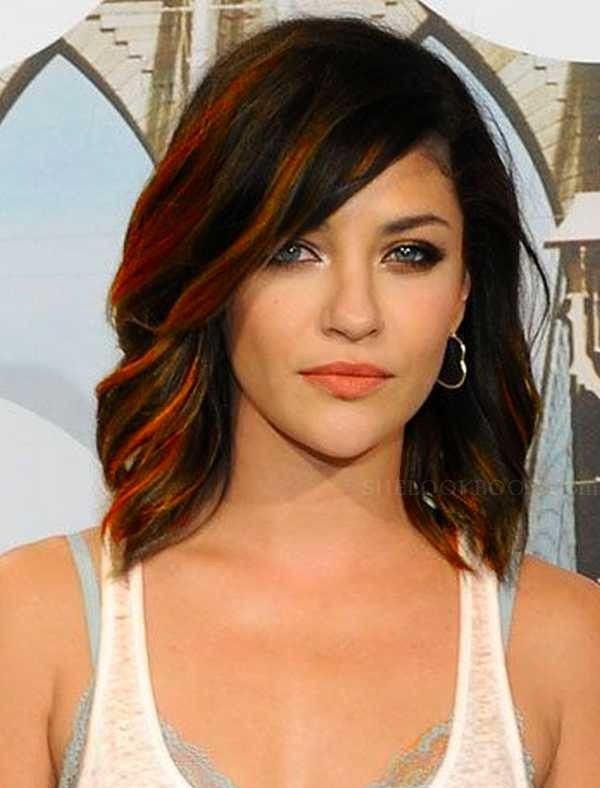 shoulder length haircuts for brunettes - Google Search
