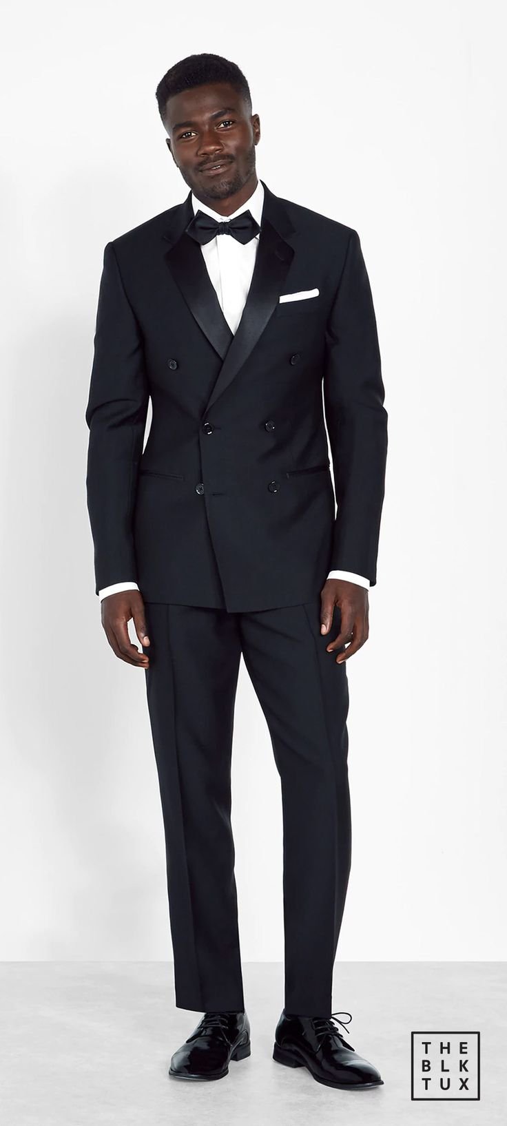 the black tux 2017 online tuxedos rental service double breasted tuxedo groommen best man style -- Suit Up in Style, The Black Tux Way