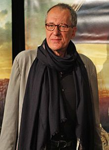 Geoffrey Rush, typical example of middle aged male who has aged gracefully and is a lot more interesting at 60 that at 30..simply irresistible