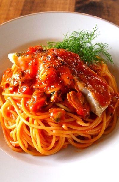 タラボンゴレロッソ by ヤスナリオさん | レシピブログ - 料理ブログの ...