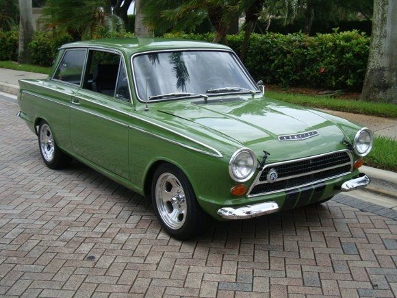 Rally-Prepared: 1964 Ford Cortina GT