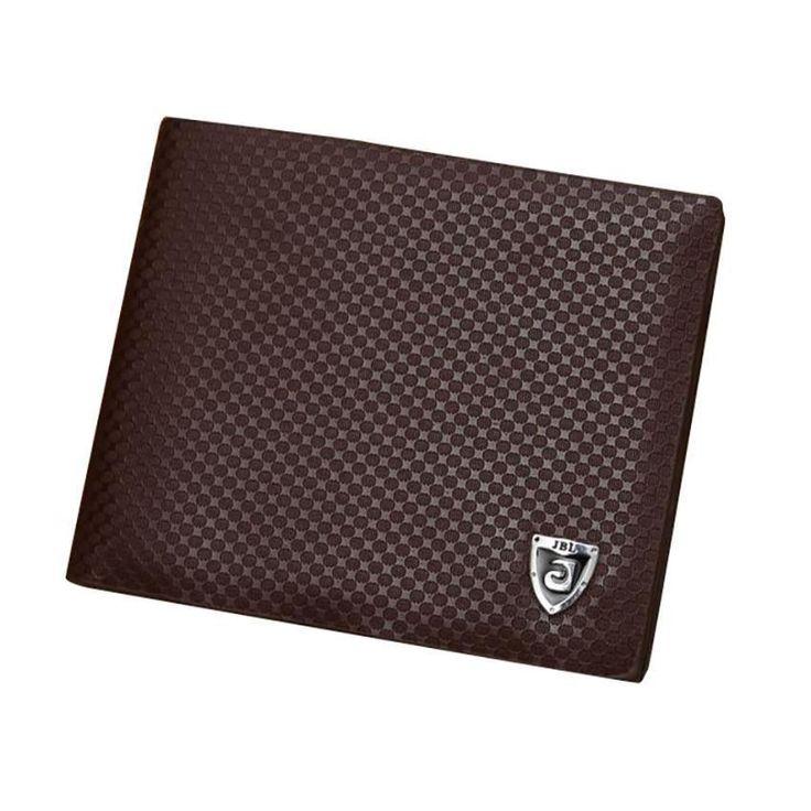 2016 Men Wallets Bifold Mini Wallet Men's Wallet Leather Credit ID Card Holder Billfold Pursecarteras mujer sacoche homme #25