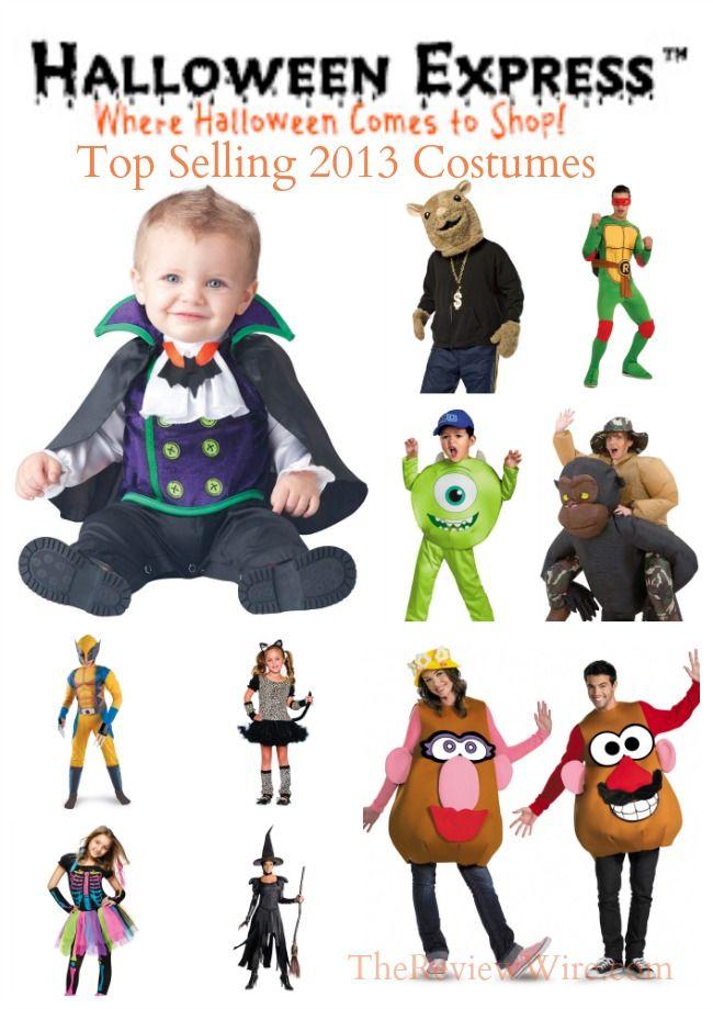 Top Ten 2013 Halloween Costumes According to Halloween Express