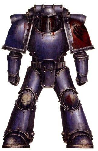 Night Lords Mk3 Iron Armour