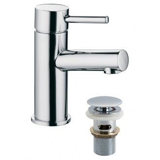 Vado Zoo mixer tap with pop up waste is a contemporary mixer tap with a pop up waste.  #designer #bathroom #taps