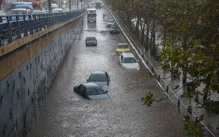 Αυτές είναι οι περιοχές που κινδυνεύουν περισσότερο από πλημμύρες: Το υπουργείο Περιβάλλοντος & Ενέργεια έδωσε στην δημοσιότητα τους χάρτες…
