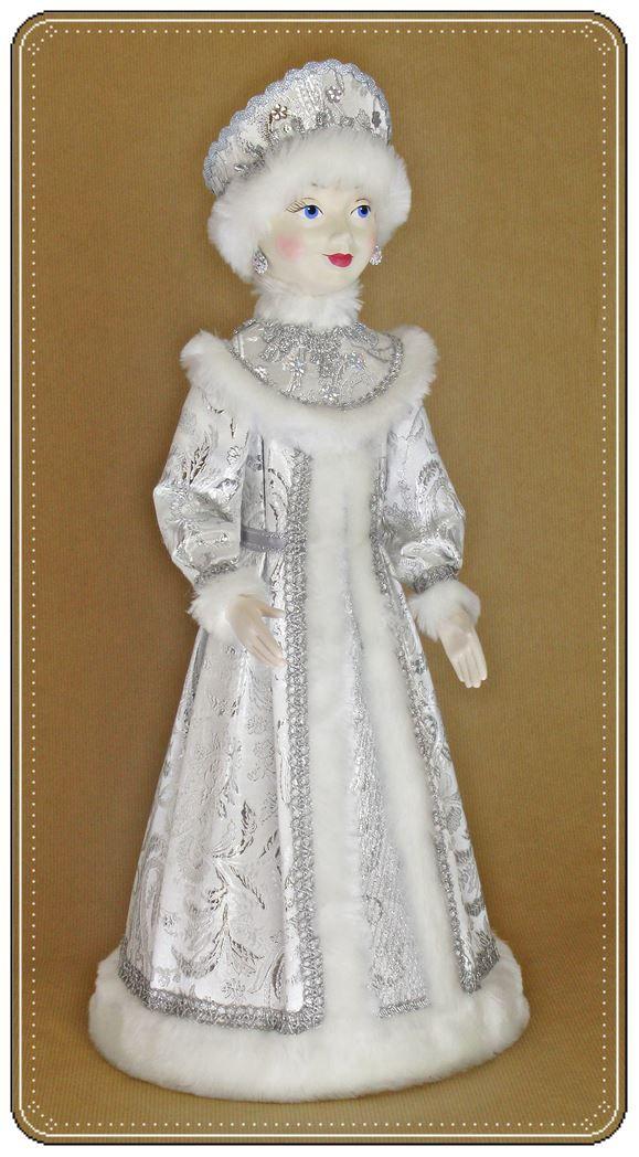 Кукла Снегурочка красивый подарок на Новый год ручной работы от автора