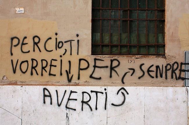 Se io vorrei... Salavare l'italiano.