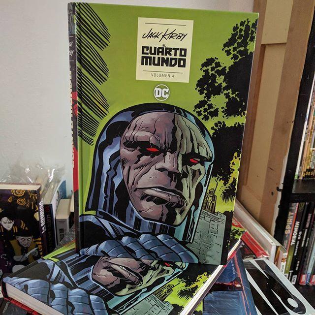 Vendo Cuarto mundo de Jack Kirby vol 4 en español #ecccomics #Kirby #darkseid