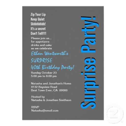 41 best 40th Birthday Party Invitations images – Personalized 40th Birthday Invitations